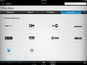 Comcast Allows You to Stream Video on Demand with iPad