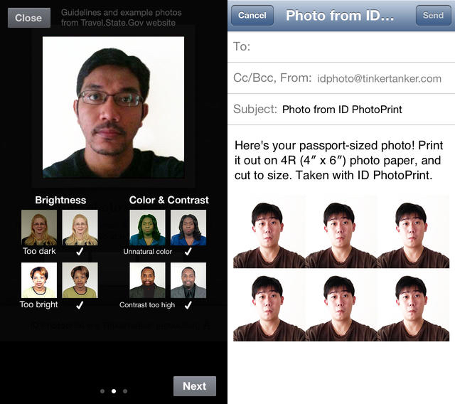 How to Take Passport Photos on iPhone