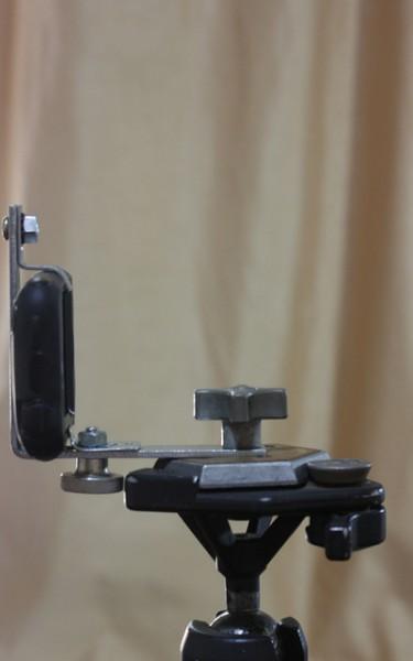 DIY smartphone tripod