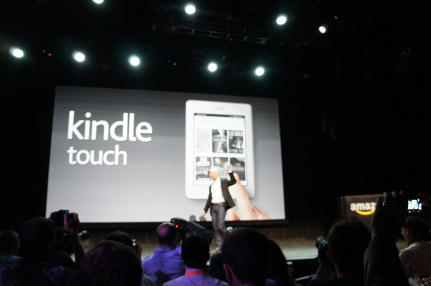 Amazon Kindel Touch Announcement