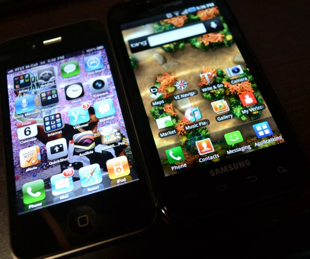 Android v iPhone