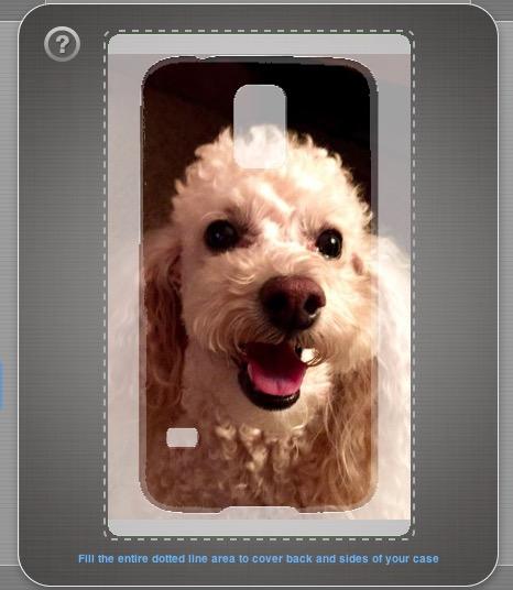Upload a photo to make a custom Galaxy S5 case.