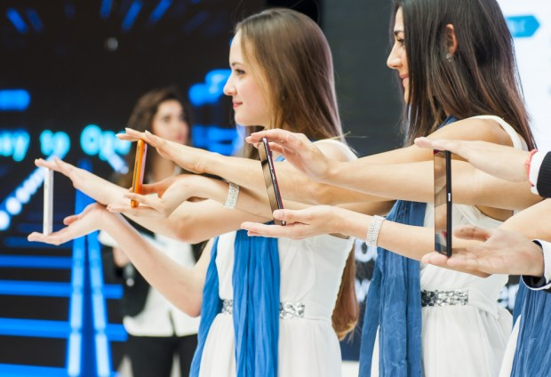 Count on a Samsung Galaxy S6 launch at MWC. Ivan Garcia / Shutterstock.com