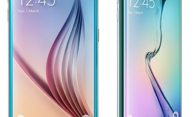 The big difference is the dual-curved edge display on the Galaxy S6 Edge.