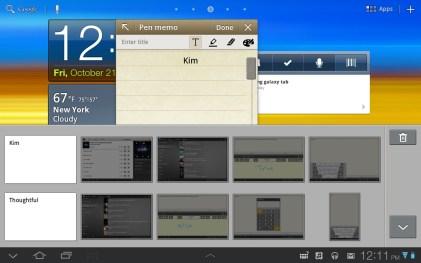Samsung Galaxy Tab 8.9 - Clipboard