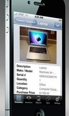 Home Inventory Smartphone