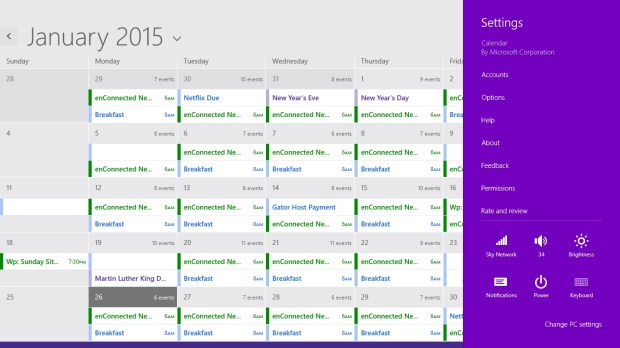 How to Add Calendars to Calendar in Windows 8 (5)