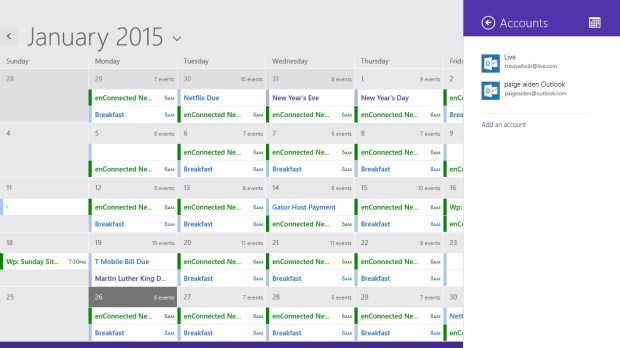 How to Add Calendars to Calendar in Windows 8 (6)