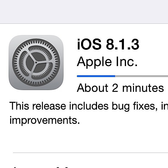 How to Install the iOS 8.1.3 Update Ios Wann on