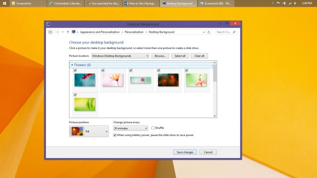 How to Set a Background in Windows 8 (11)