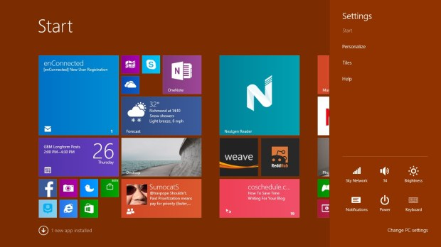 How to Set a Background in Windows 8 (2)