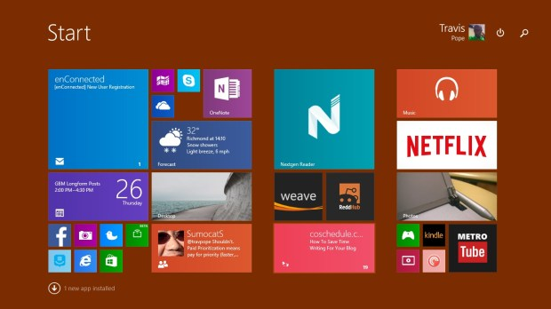 How to Set a Background in Windows 8 (3)