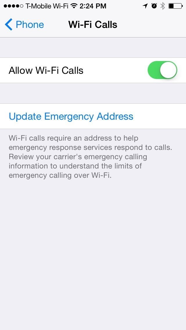 tmobile wifi calling iphone how to use t mobile wi fi calling on the iphone 9197