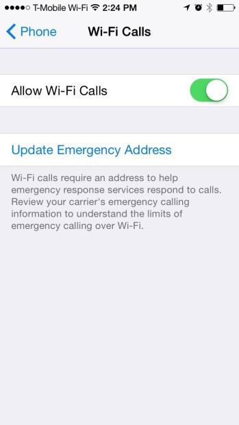 How to Use T-Mobile Wi-Fi Calling On The iPhone (8)