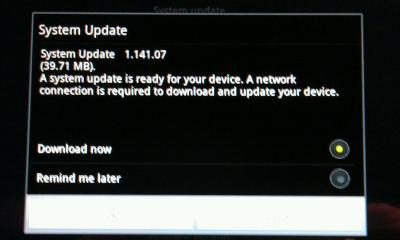 acer iconia tab a500 update ready