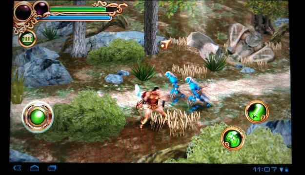 Heros of Spart on Acer Iconia Tab A500