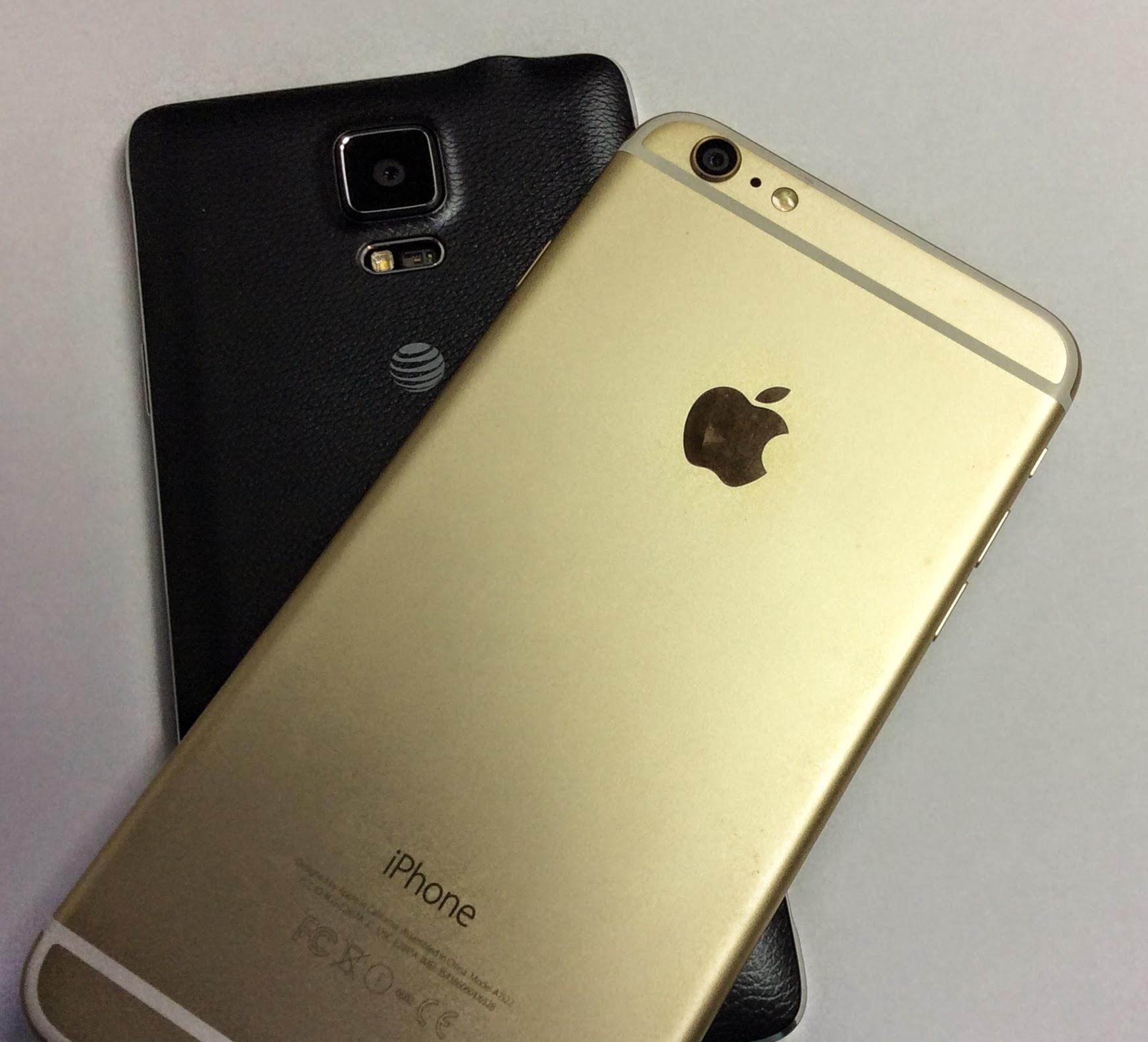 Iphone vs samsung camera comparison