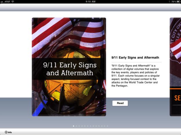 Vook 9/11 App
