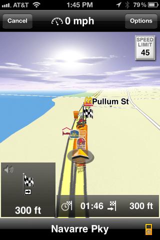 Navigon GPS iPhone App