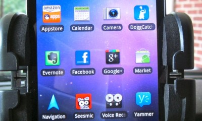 Samsung Infuse 4G In Bracketron Universal GPS Mount