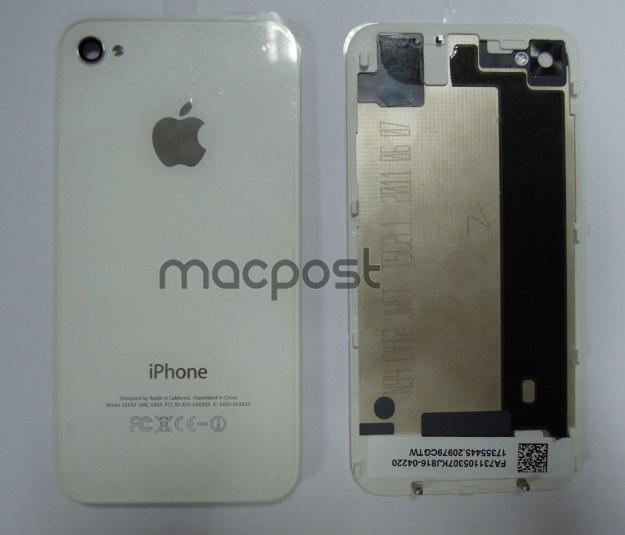 IPhone 5 back