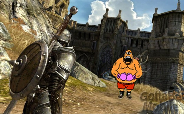 Infinity Blade vs. Punchout
