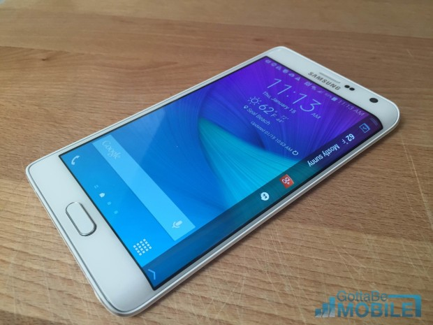 We could see a Galaxy S6 with a curved display.