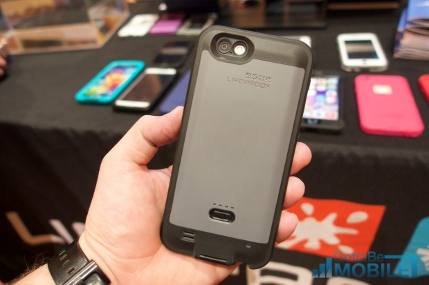The LifeProof fre Power is a waterproof iPhone 6 battery case.