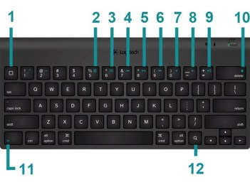 Logitech Tablet Keyboard image from Android support website.