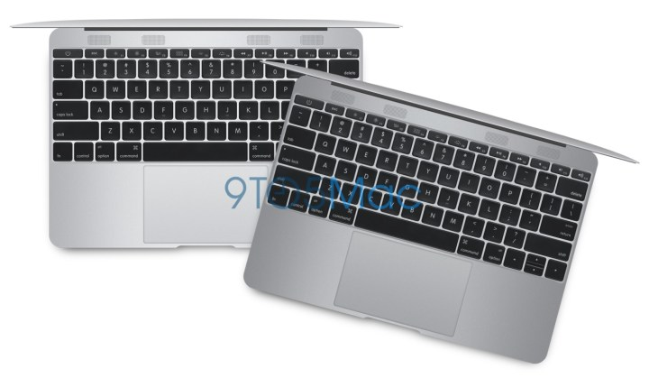 A possible look for the MacBook Air Retina in 2015.