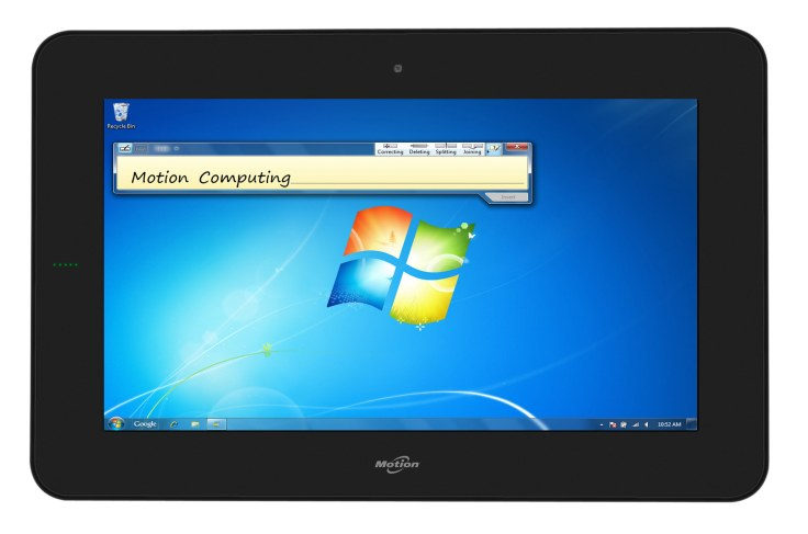 Motion CL900 Rugged Windows 7 Tablet