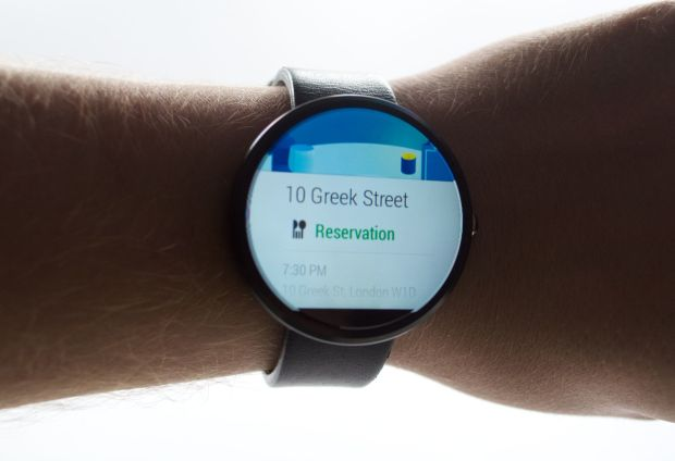If a notification includes an address you can choose to navigate using the watch, or simply start navigation from Google Now.