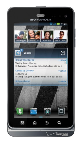 Motorola Droid 3 Head On