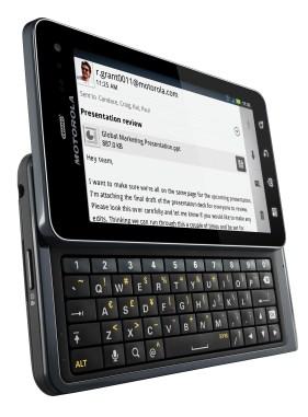 Motorola Droid 3 Keyboard Angle