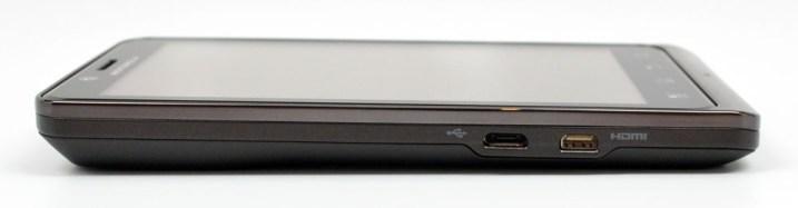Motorola Droid Bionic Left Side
