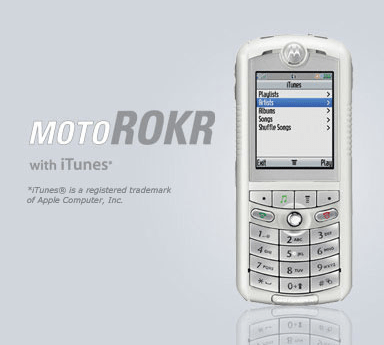Motorola - MotoROKR with iTunes