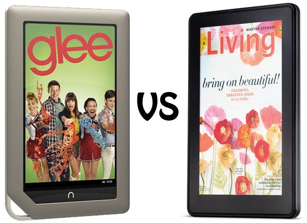 Face-Off: Kindle Fire vs. Nook Tablet