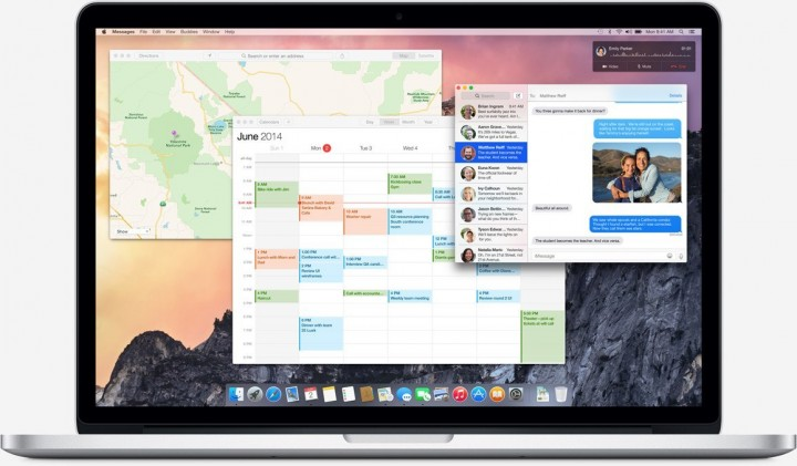 New OS X Yosemite Design