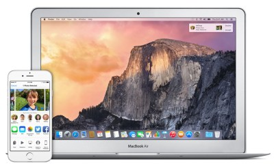 AIrDrop from OS X Yosemite to the iPhone or iPad only works on some Macs.