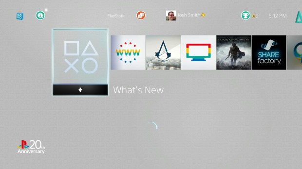 Set a PS4 theme to change the look of your PS4.