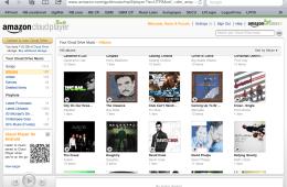 Amazon Cloud Player in Safari