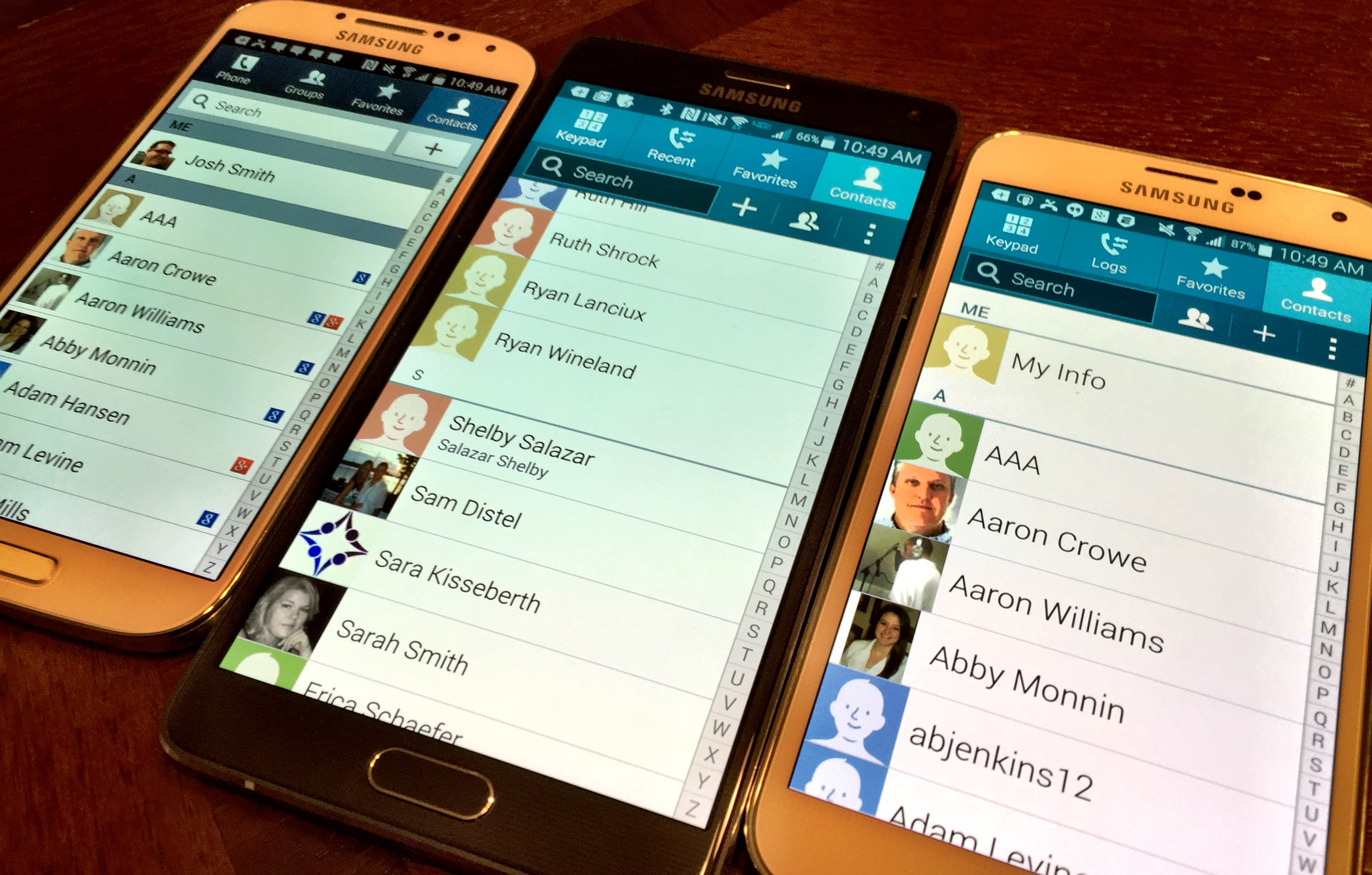 How to Remove Duplicate Contacts on Galaxy S5, Galaxy S4