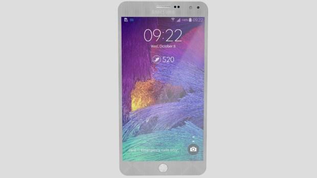 Galaxy Note 5 concept.