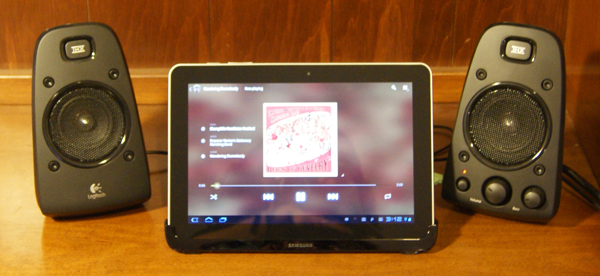 Samsung Galaxy Tab 10.1 Multi-media Dock
