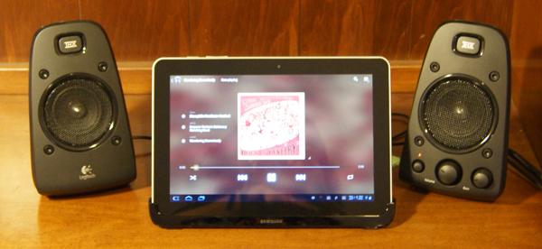 Samsung Galaxy Tab 10.1 Multi-media Dock
