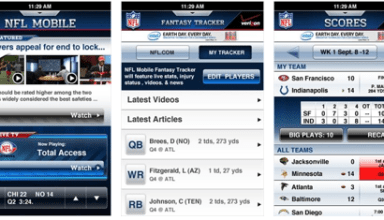 Verizon NFL Mobile app