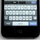 iPhone keyboard tip