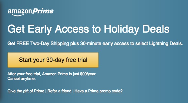 How To Get Amazon Prime For Free During The Holidays