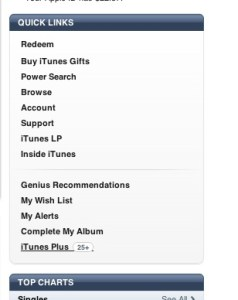 iTunes Offers to Upgrade DRM Music