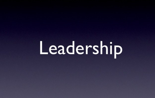 Slide Example Leadership